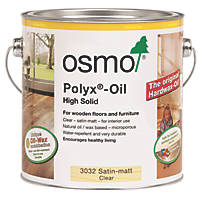 Osmo Polyx Hardwax Oil Clear Satin Matt 750ml