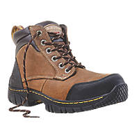 Dr Martens Riverton Safety Boots Brown Size 8