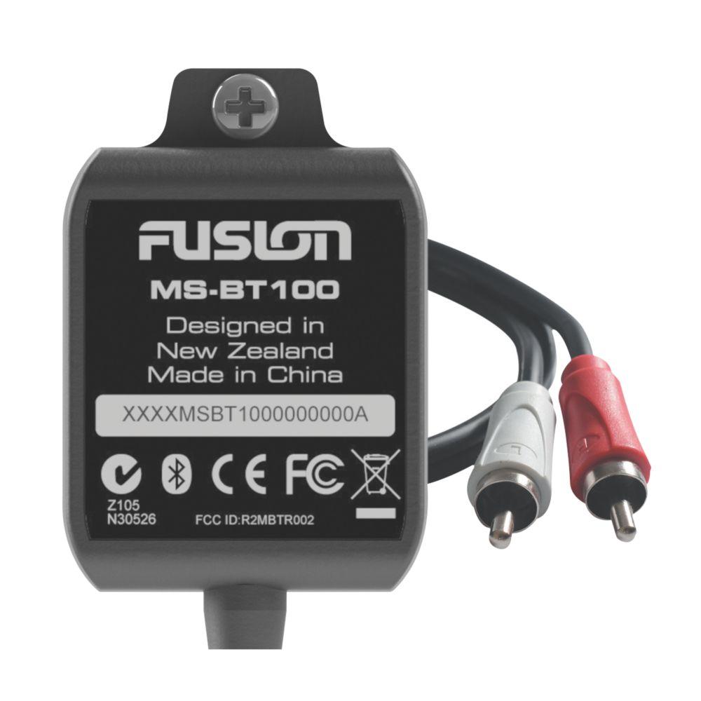 Fusion MS-BT100 Bluetooth Audio Receiver 12V