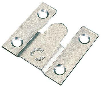 Flush Mounts Zinc Plated 3.75 x 35 x 36.87mm Pack of 10