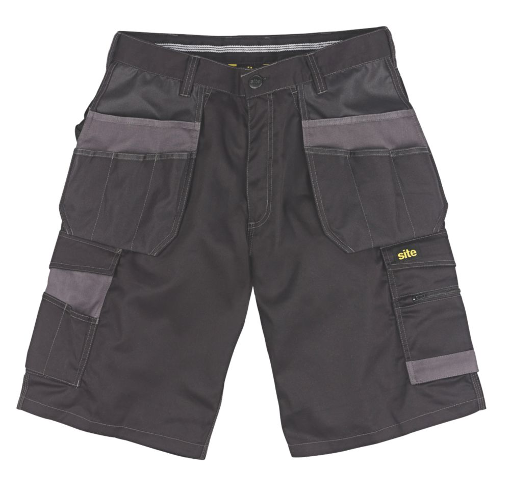 "Site Hound Multi-Pocket Shorts Black 34"" W"
