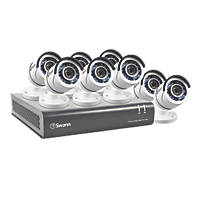 Swann SWDVK-845508-UK 8-Channel CCTV & DVR Kits & 8 Cameras