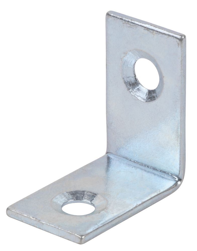 Corner Braces Zinc Plated 25 x 25 x 16.5mm Pack of 10