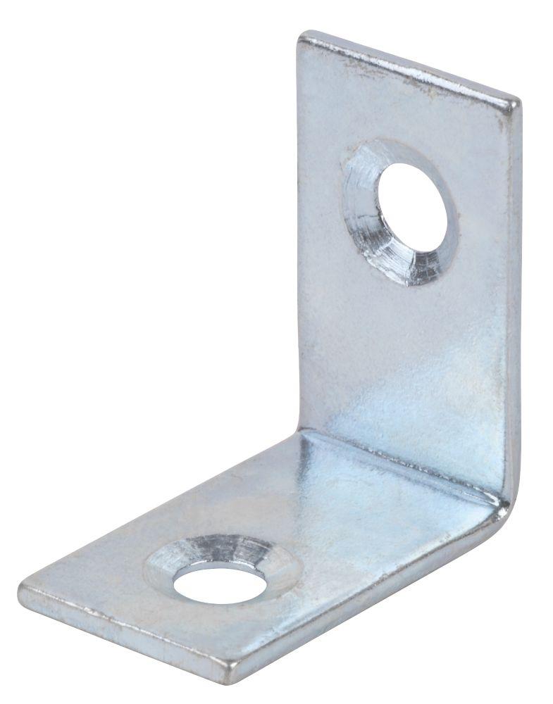 Corner Braces Zinc Plated 25 x 25 x 16.5mm Pack of 10
