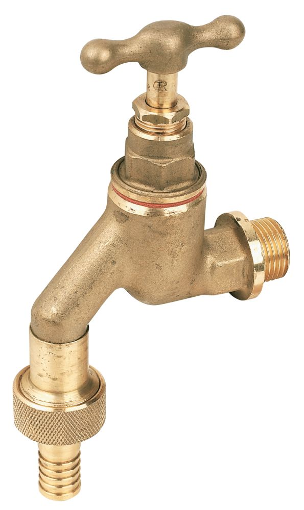 Pegler HU Bib Tap with Check Valve ½""