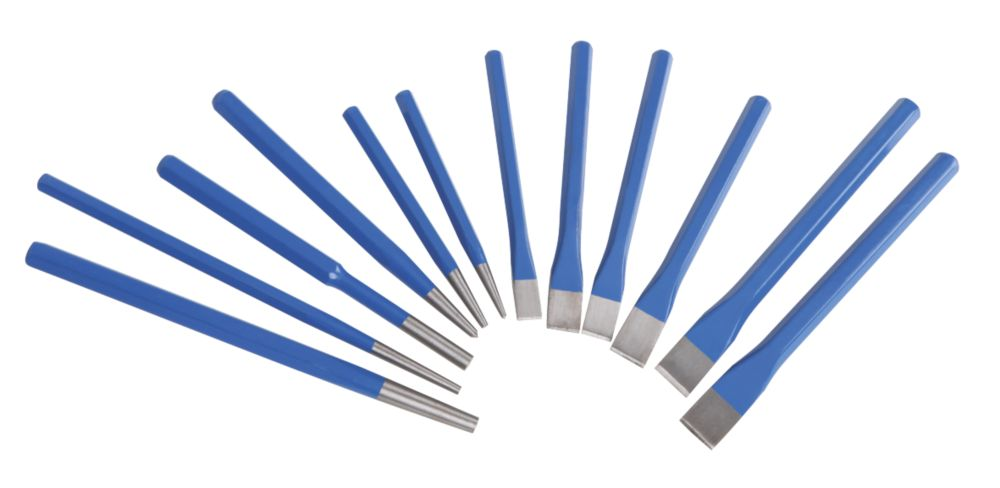 Punch / Chisel Set 12Pc