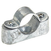 Deta Galvanised Heavy Distance Saddles 25mm Pack of 10