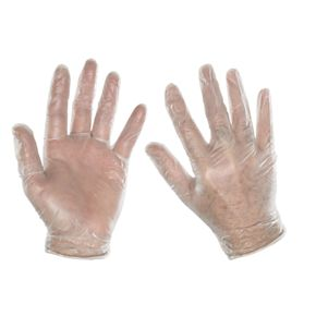Vinyl Disposable Gloves Pack of 100
