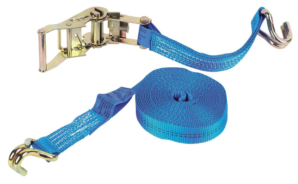Ratchet Strap & Hook 6m x 35mm