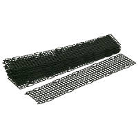 FloGuard Black PVC Gutter Guard 5m Pack of 10