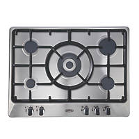 Belling GHU70GC MK2 Gas Hob Stainless Steel 510 x 680mm