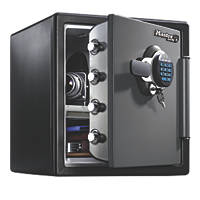 Master Lock 34.8Ltr Electronic Water-Resistant 2-Hour Fire Safe Medium 415 x 491 x 453mm