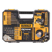 DeWalt Combination Screwdriver, Drill & Holesaw Bit Set 100 Piece Set