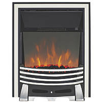 Focal Point Elysee Chrome Switch Control Freestanding Electric Fire