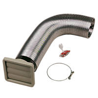 Manrose Cooker Hood Termination Kit 100mm