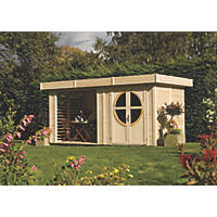 Rowlinson Connor Log Cabin 2.5 x 5m