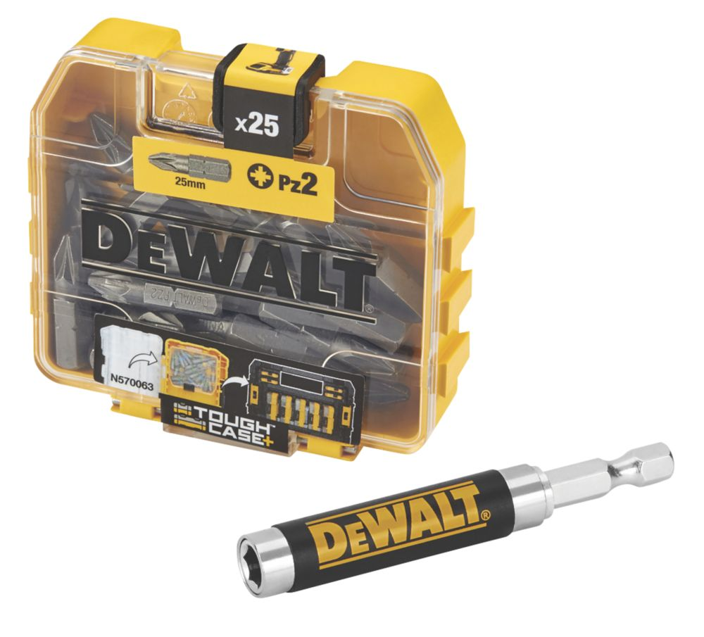DeWalt Screwdriver Bit Box PZ#2 26Pcs
