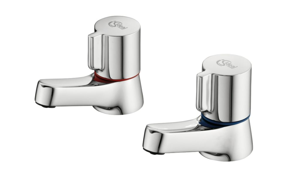 Ideal Standard Alto Basin Pillar Taps Pair