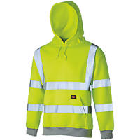 "Dickies  Hi-Vis Hoodie Saturn Yellow Medium 42"" Chest"