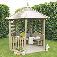 Forest Burford Gazebo 2.8 x 2.5 x 2.3m