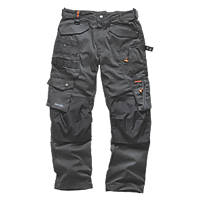 "Scruffs 3D Pro Trousers Graphite 34"" W 32"" L"