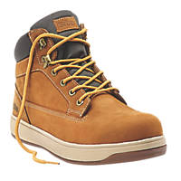 Site Touchstone Safety Boots Dark Honey Size 8