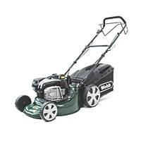 Webb WER18SPES 46cm  161cc Self-Propelled Rotary 4-in-1 Petrol Lawn Mower with Mulch