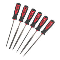 Forge Steel Needle File Set 150mm 6 Pieces