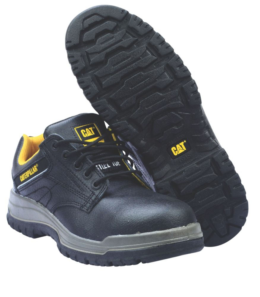 Caterpillar Dimen Lo Black Safety Shoes Size 8