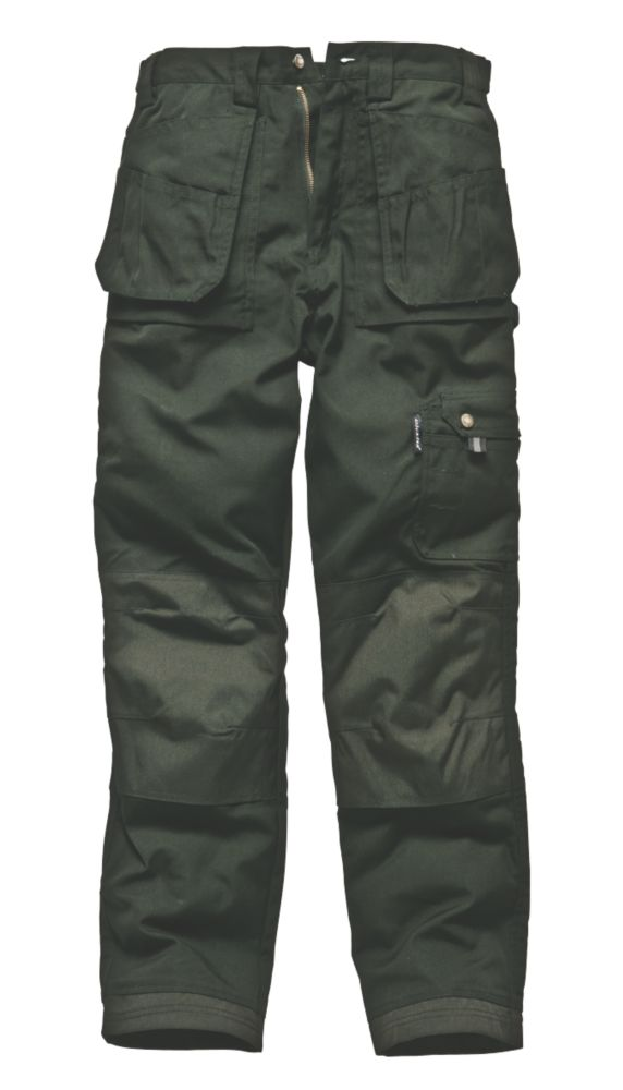 "Dickies Eisenhower Trousers Olive 40"" W 32"" L"