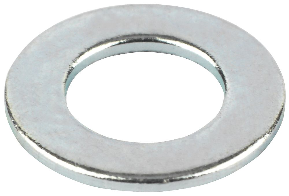 Flat Washers BZP M4 Pack of 100