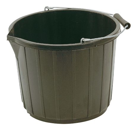 Builders Bucket Black 3 GallonPk5