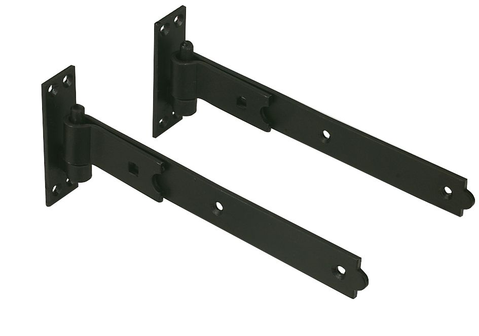 Gate Hinge Pack 300mm Straight