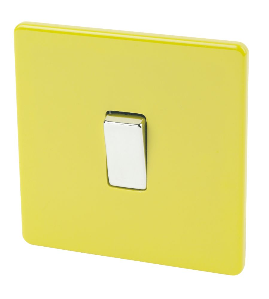 Varilight 1-Gang 2-Way 10A Switch Lime Green