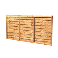 Forest Closeboard Panel Fence Panels 1.82 x 1.2m 3 Pack