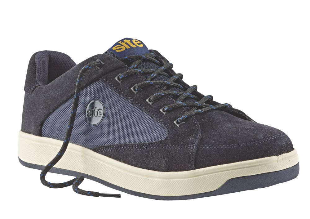 Site Sapphire Safety Trainers Navy Size 8