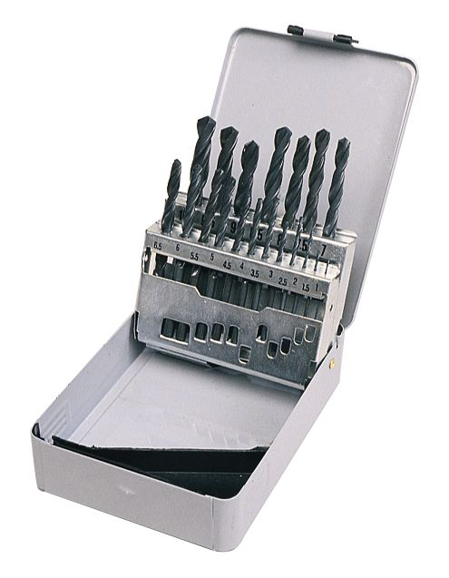 HSS Metal Boxed Drill Bit Set Metric 19 Pc