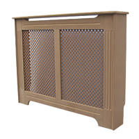 Victorian MDF Radiator Cabinet Unfinished 1020 x 210 x 868mm