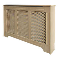 Victorian MDF Radiator Cabinet Unfinished 1420 x 210 x 918mm