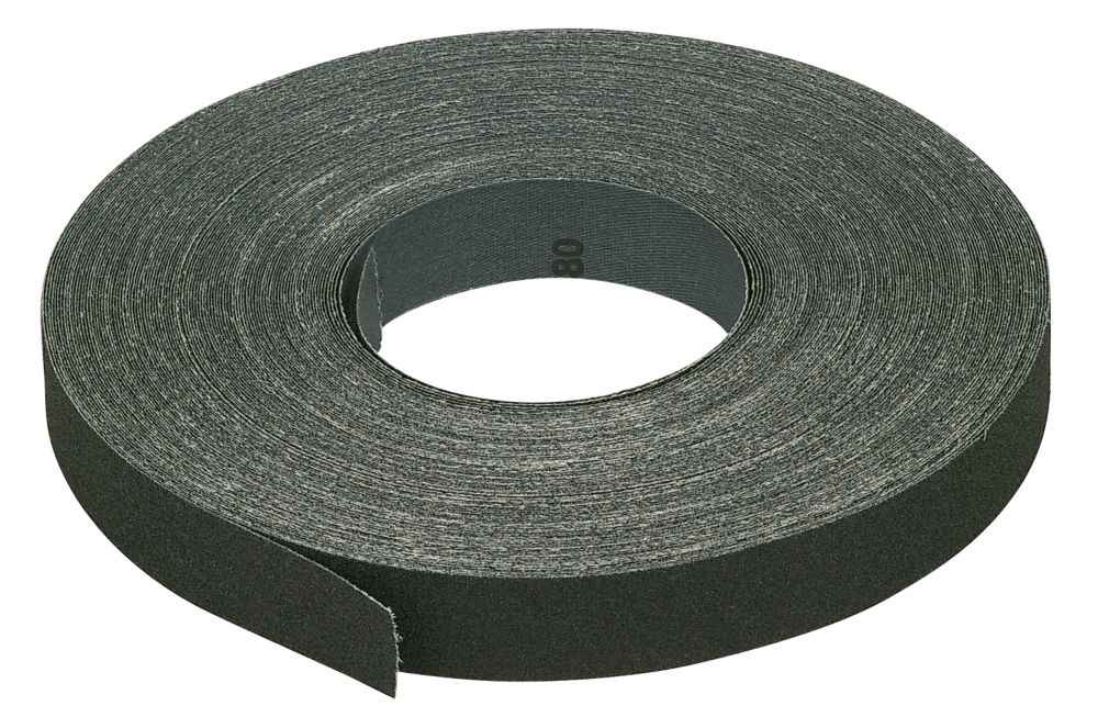 Emery Cloth Strip 80 Grit 25mm x 50m