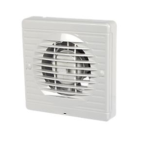 Manrose XF100H 20W Axial Bathroom Fan | Bathroom Extractor ...