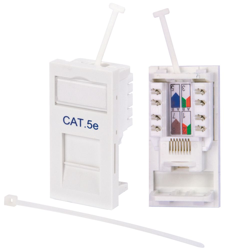 Labgear Cat5E Outlet Module