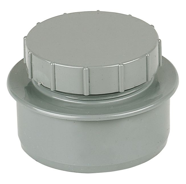 Screw-On End Cap Grey SP292