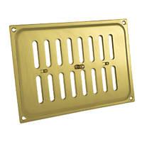 Carlisle Brass Adjustable Vent Polished Brass 165 x 242mm