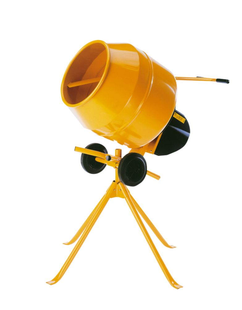 Belle Mini Mix 130 Tip-Up Concrete Mixer 230V