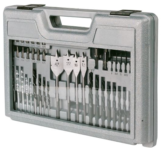Drill Bit Set & Case 45Pcs