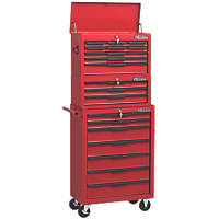 Hilka Pro-Craft 19-Drawer Heavy Duty Tool Chest & Trolley