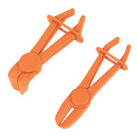 Laser Flexible Hose Clamp Set 2 Pack