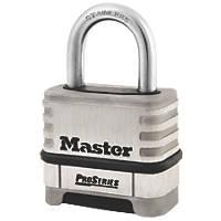 Master Lock Pro Series Combination Padlock Max. Shackle W x H: 25 x 28mm