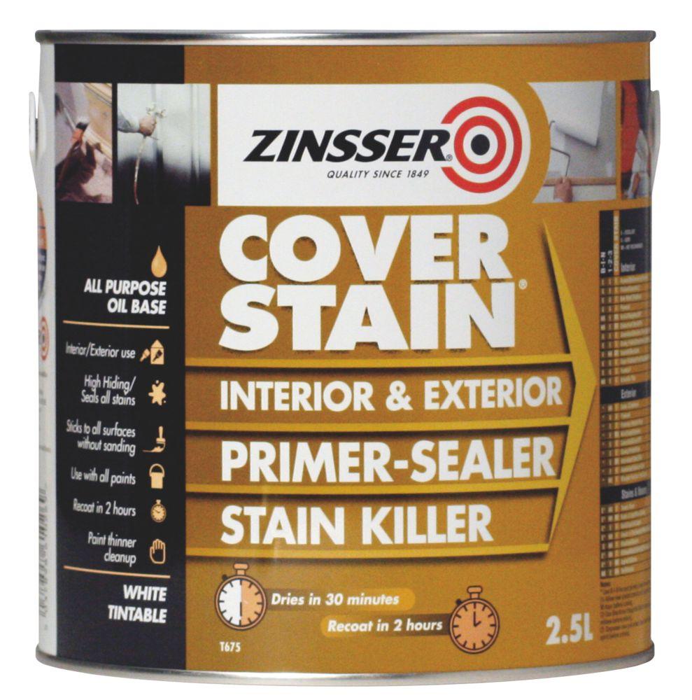 Zinsser Cover Stain Primer 2.5Ltr